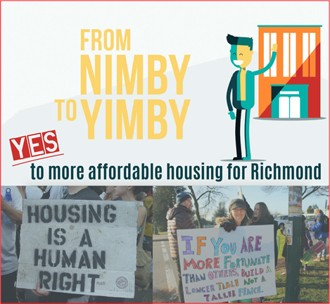 from nimby to yimby poster