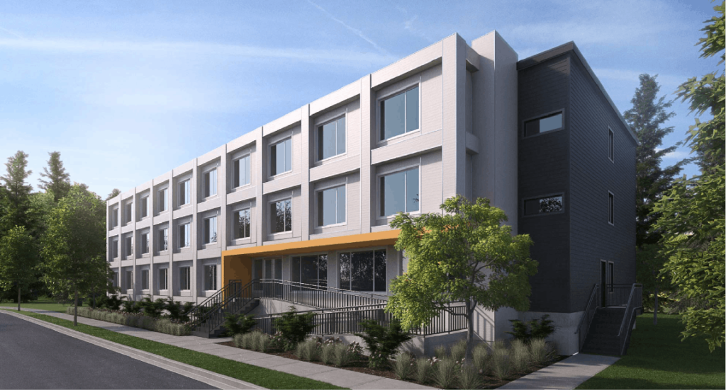 richmond supportive housing rendering