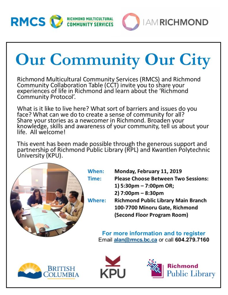 richmond community collaboration table forum
