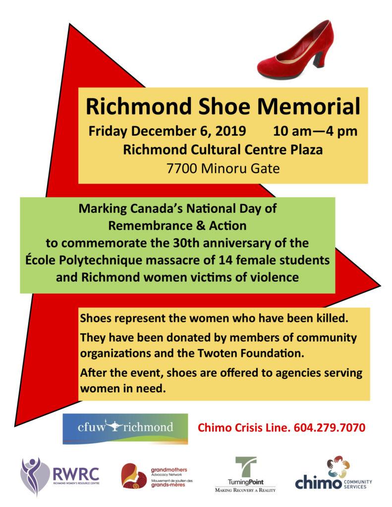 richmond shoe memorial poster