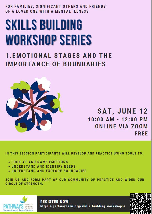 pathways serious mental illness society workshop